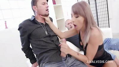 In Control, Vicky Sol Rules the Stage with nut Deep Anal, fat Gapes, creampie and swallow GIO1562